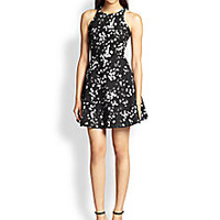 Elizabeth and James - Magdalena Block-Print Dress - Saks Fifth Avenue Mobile