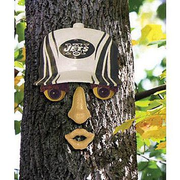 New York NY Jets NFL FOREST FACE Yard/Tree GARDEN Decoration