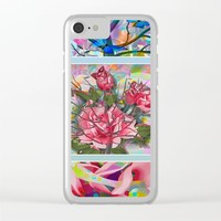 Spring Medley Clear iPhone Case by Macsnapshot