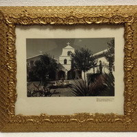 Vintage 1960s Dale Sedgwick Photograph New Mexico Church