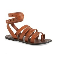 Women's Free People 'Sunever' Leather Gladiator Sandal