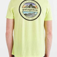 Patagonia Rivet Logo Tee- Yellow
