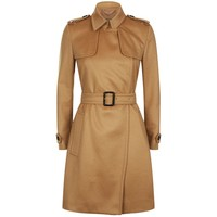 Burberry Tempsford Cashmere Trench Coat | Harrods.com