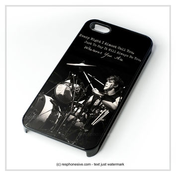 Ashton Irwin 5 Sos Collage iPhone 4 4S 5 5S 5C 6 6 Plus , iPod 4 5 , Samsung Galaxy S3 S4 S5 Note 3 Note 4 , HTC One X M7 M8 Case