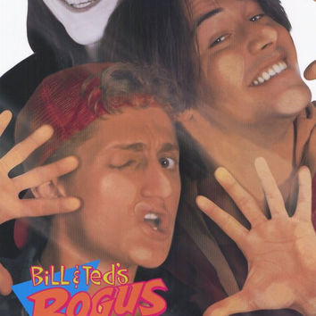 Bill and Ted's Bogus Journey 11x17 Movie Poster (1991)