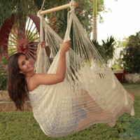 Sunnydaze Extra Large Mayan Chair Hammock With Wood Bar
