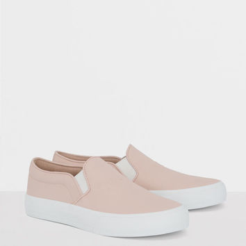 Plimsolls with message - See all - Shoes - Woman - PULL&BEAR United Kingdom