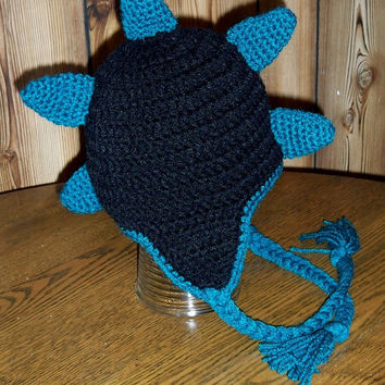 Baby Toddler Child Crochet Dinosaur Hat, Dinosaur Hat, Baby Dinosaur Hat, Dino Hat, Crochet Dinosaur. Monster. Knit Dino Hat. Halloween Hat