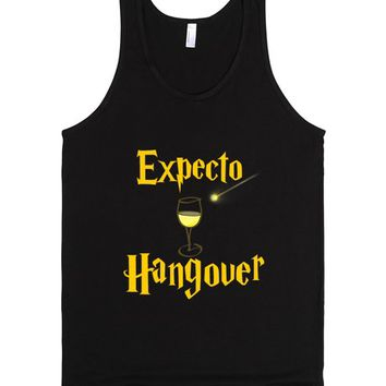 Expecto Hangover Wine | Tank Top | SKREENED