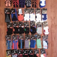 **Nike Elite KD Kevin Durant 2.0 Sequalizer Lebron Basketball socks Size M, L**