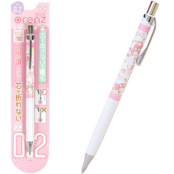 My Melody mechanical pencil oranges 0.2 mm orenz ☆ Sanrio school life stationery series ★