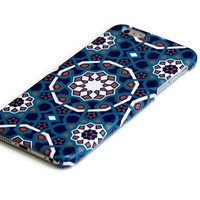 Mediterranean Blue Mosaic iphone 6 case, iphone 6 plus case, iphone 5 case, Samsung Galaxy S6 case, Galaxy S5 case, galaxy note3, note 4