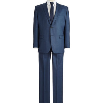 Calvin Klein Modern Fit Two-Piece Wool Suit