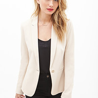 LOVE 21 Single-Button Blazer