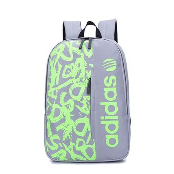 """Adidas"" Fashion Rucksack College Backpack School Bag Hiking Daypack"