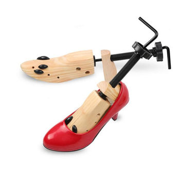1 pcs Professional Wood Expand Shoe Lasts Support Shoes Useful Lady High Heel Shoes Tree Wooden Stretcher Support Shaper F2L