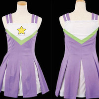 Lucky Star Cheerleading Uniform Costume Cosplay