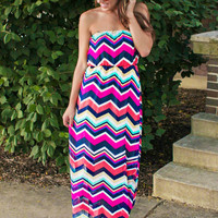 Be Enchanted Chevron Maxi