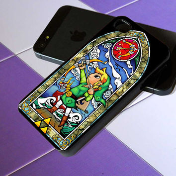 the legend of zelda - iPhone 4 / iPhone 4S / iPhone 5 / Samsung S2 / Samsung S3 / Samsung S4 Case Cover