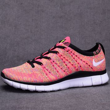 """NIKE"" Trending Fashion Casual Pink Sports Shoes"