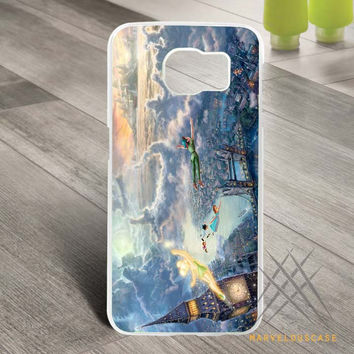Disney Peter Pan Art Design Custom case for Samsung Galaxy