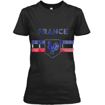 France Soccer Jersey Flag Shirt Rooster Men Women Kid Sizes Ladies Custom