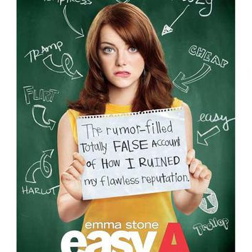 Easy A 11x17 Movie Poster (2010)