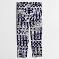 Factory printed skimmer pant - Pants - FactoryWomen's New Arrivals - J.Crew Factory
