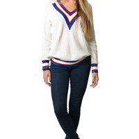 Princeton V-Neck Sweater