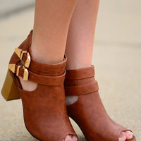 The Ellie Heel, Cognac