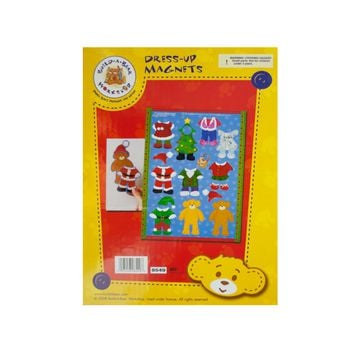 Build-A-Bear Christmas Dress-Up Magnets Case Pack 24
