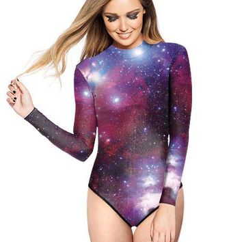 Surfing The Galaxy One Piece Swimsuit