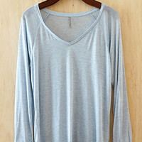 Perfectly Imperfect Daydreamer Tunic, Powder Blue