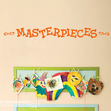 Masterpieces Vinyl Wall Art by showcase66