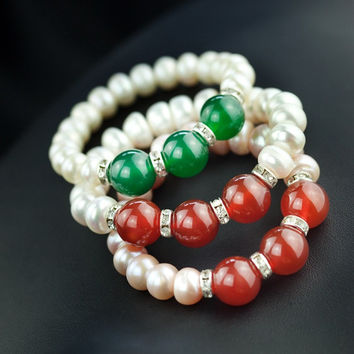Great Deal Hot Sale Awesome Gift Shiny New Arrival Pearls Summer Stylish Jewelry Bracelet [4914868356]