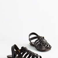 Boho Just My Nature Sandal in Black