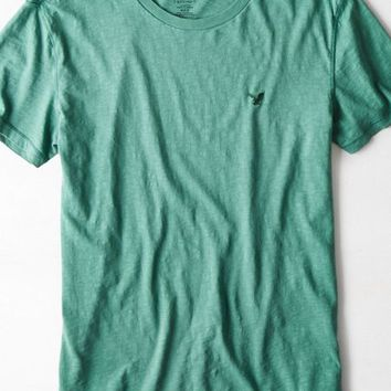 AEO Men's Legend Crew T-shirt (Dusty Sage)