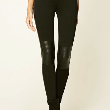 Contemporary Paneled Leggings