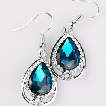 Anything Is POSH-ible! - Blue Earrings