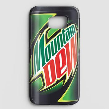 Funny Mountain Dew Samsung Galaxy S7 Edge Case