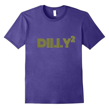Dilly Squared T-Shirt Funny Football Tailgate Party