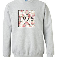 THE 1975 Floral Sweat Shirt Small - XL Assorted Colors