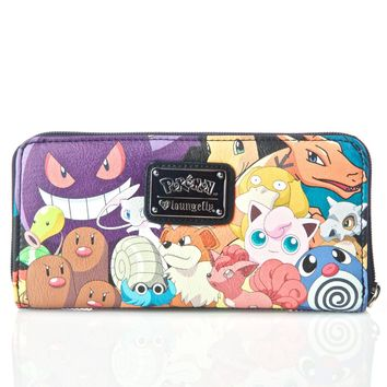 X Pokemon Character Wallet