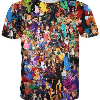 Kingdom Hearts Collage T-Shirt *Ready to Ship*