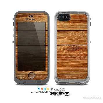The Raw WoodGrain Skin for the Apple iPhone 5c LifeProof Case