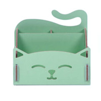Happy Cat Stationary Organizer