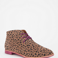 DV By Dolce Vita Madge Leopard Lace-Up Ankle Boot