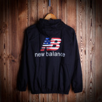 Unisex NEW BALANCE Hooded Jacket Lightweight