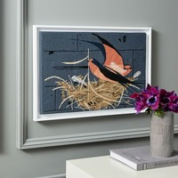 Charley Harper Tapestry Wall Art - Barn Swallow