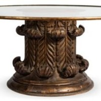 One Kings Lane - Kelly Wearstler: Modern Glamour - Bronze Painted Wood Coffee Table